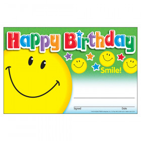 Happy Birthday Smile Recognition Awards