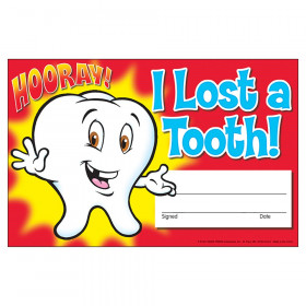 I Lost a Tooth! Hooray! Recognition Awards, 30 ct
