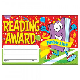 Reading Award Finish Line Recognition Awards