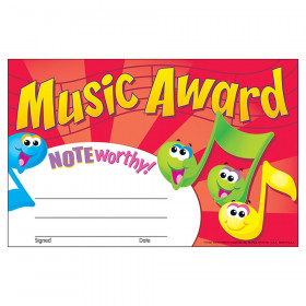 Music Award Recognition Awards, 30 ct