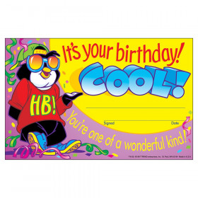 It's your birthday! Cool! Recognition Awards, 30 ct