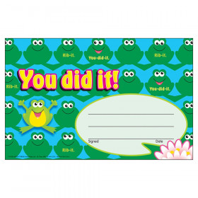 You did it! Frogs Recognition Awards, 30 ct