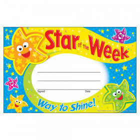 Star of the Week-Way to Shine! Recognition Awards, 30 ct