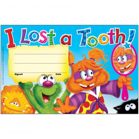 I Lost a Tooth! Furry Friends? Recognition Awards