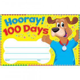 Hooray! 100 Days Happy Hound Recognition Awards