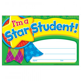 I'm a Star Student Star Medal Recognition Awards