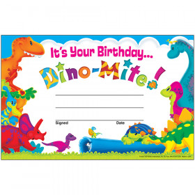 Birthday Dino-Mite Pals™ Recognition Awards