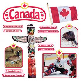 Canadian Symbols (EN/FR) Bulletin Board Set