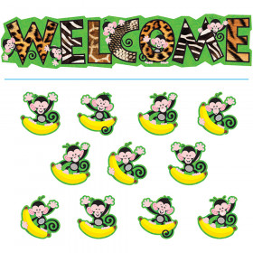Monkey Mischief? Welcome Bulletin Board Set