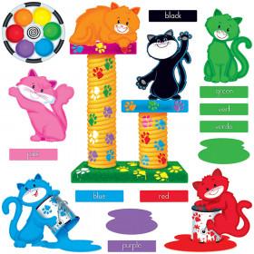 Curious Color Cats Bulletin Board Set