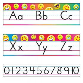 Emoji Alphabet Line Standard Manuscript Bulletin Board Set