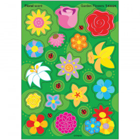 Garden Flowers/Floral Stinky Stickers® – Mixed Shapes