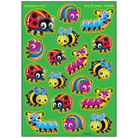 Bug Buddies/Licorice Stinky Stickers® – Mixed Shapes