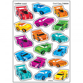 Cool Cars/Leather Stinky Stickers® – Mixed Shapes