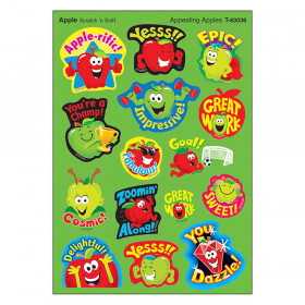 Appealng Apples Mixed Shapes Stinky Stickers