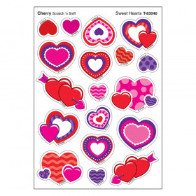 Sweet Hearts/Cherry Shapes Stinky Stickers