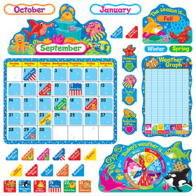 Sea Buddies™ Calendar Bulletin Board Set