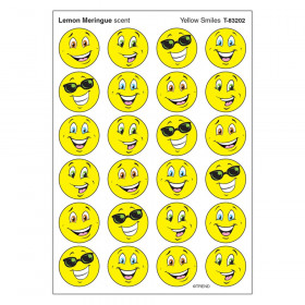 Yellow Smiles/Lemon Meringue Stinky Stickers® – Small