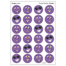 Purple Smiles/Grape Stinky Stickers, 96 ct.