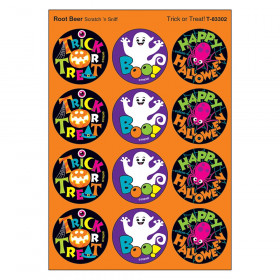 Trick Or Treat/Root Beer Stinky Stickers