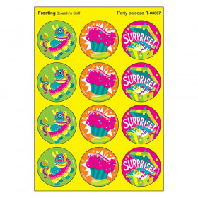 Party-palooza/Frosting Stinky Stickers, 48 Count