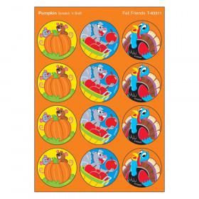 Fall Friends/Pumpkin Stinky Stickers, 48 Count