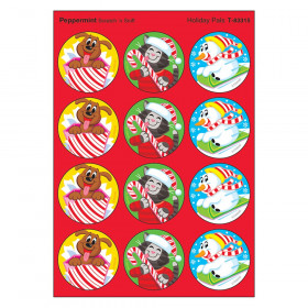 Holiday Pals/Peppermint Stinky Stickers