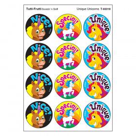 Unique Unicorns/Tutti Frutti Stinky Stickers, 48 Count