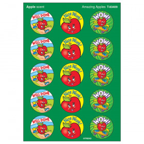 Amazing Apples/Apple Stinky Stickers, 60 ct.