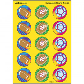 Spectacular Sports/Leather Stinky Stickers® – Large Round