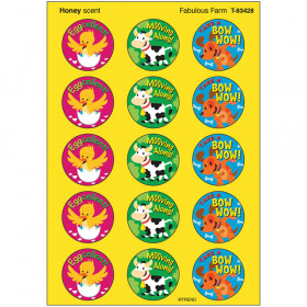 Fabulous Farm/Honey Stinky Stickers® – Large Round
