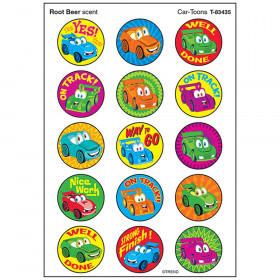 Car-Toons/Root Beer Stinky Stickers, 60 ct.