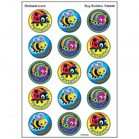 Bug Buddies/Orchard Stinky Stickers® – Large Round