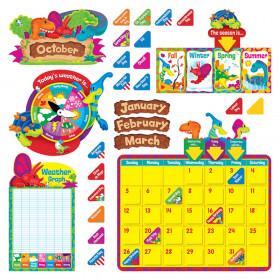 Dino-Mite Pals Calendar Bulletin Board Set