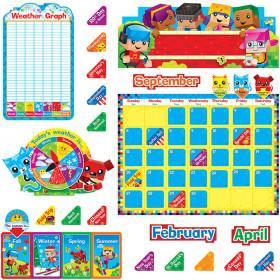 BlockStars!® Calendar Bulletin Board Set