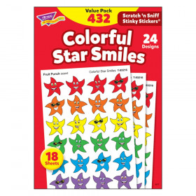 Colorful Star Smiles Stinky Stickers® Value Pack