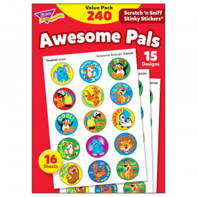 Awesome Pals Stinky Stickers Value Pack, 240 ct.