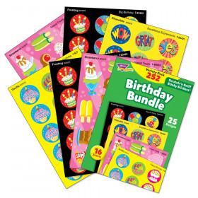 Birthday Stinky Stickers Variety Pk 252 Ct Bundle