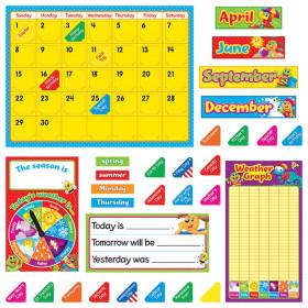Playtime Pals Calendar Bulletin Board Set