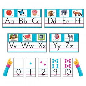 Color Harmony Photo Alphabet Bulletin Board Set