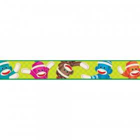 Sock Monkeys Bolder Borders®