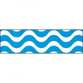Wavy Blue Bolder Borders®