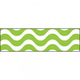 Wavy Lime Bolder Borders®
