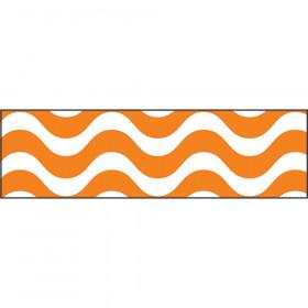 Wavy Orange Bolder Borders®