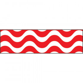 Wavy Red Bolder Borders®