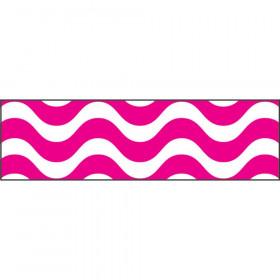 Wavy Pink Bolder Borders®