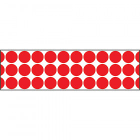 Big Dots Red Bolder Borders®