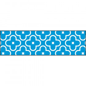 Floral Blue Bolder Borders®