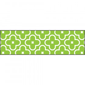 Floral Lime Bolder Borders®