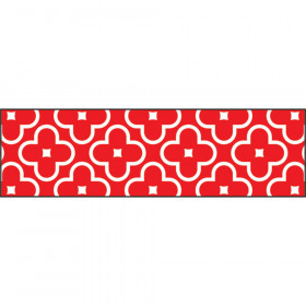 Floral Red Bolder Borders®